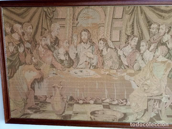 Arte: Antiguo tapiz de La Ultima Cena - Foto 3 - 262261905