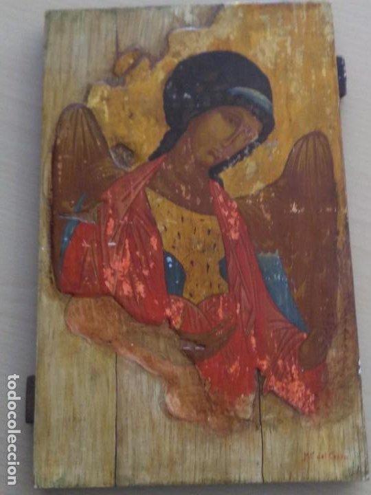 ICONO ARCÁNGEL / PINTADO A MANO (Arte - Arte Religioso - Iconos)