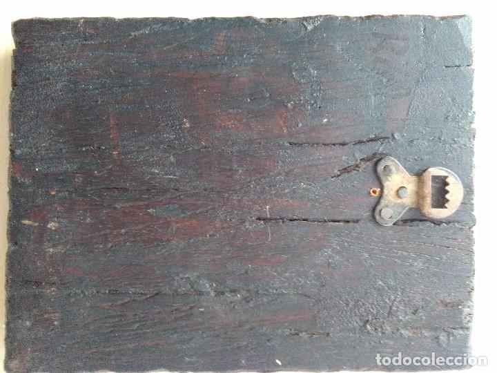 Arte: Icono Trinidad / pintado a mano - Foto 2 - 262485800