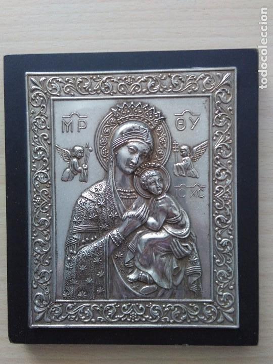 Arte: Icono / metal plateado - Foto 2 - 262486105
