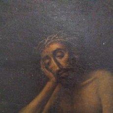 Arte: CRISTO HUMILDAD Y PACIENCIA / ÓLEO SOBRE LIENZO / S. XVIII. Lote 262566690