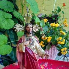 Arte: FIGURA ANTIGUA RELIGIOSA OLOT. Lote 263168685