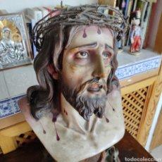 Arte: BUSTO SANTO CRISTO DE LIMPIAS OLOT. Lote 263177585