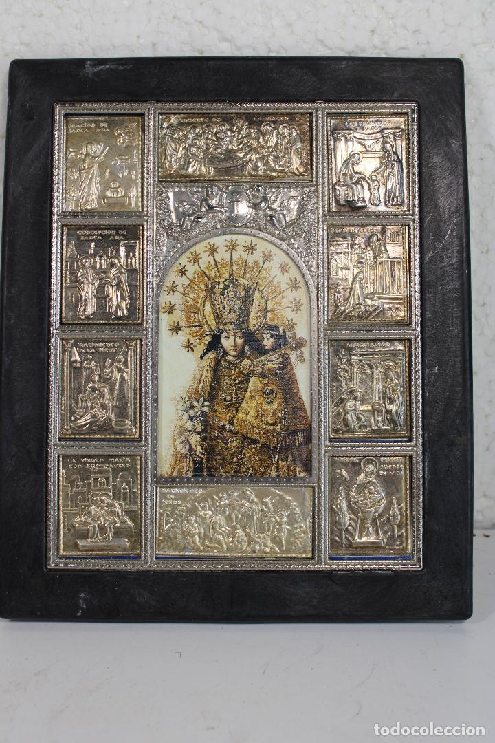 CUADRO RETABLO VIRGEN DE LOS DESAMPARADOS (Arte - Arte Religioso - Retablos)