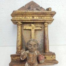 Art: ANTIGUO PORTAPAZ CON NIÑO JESÚS. SIGLO XVIII. OF. Lote 265109339