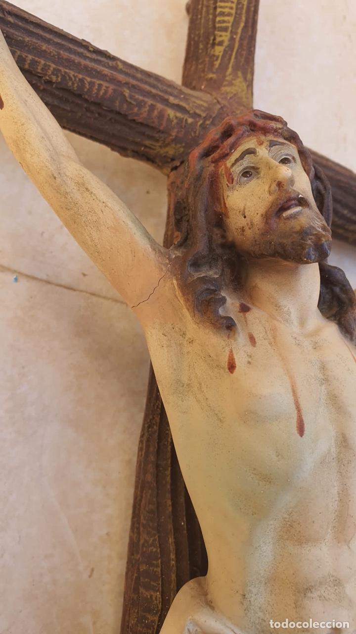 Arte: Bonito crucificado de Olot, para restaurar - Foto 3 - 265387239