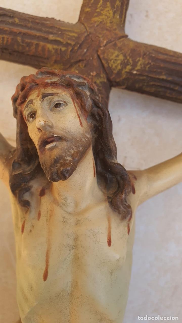 Arte: Bonito crucificado de Olot, para restaurar - Foto 4 - 265387239