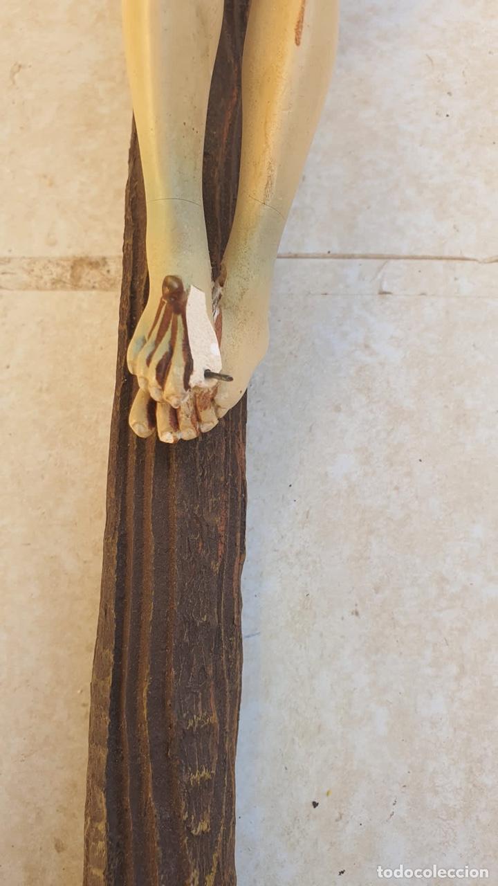 Arte: Bonito crucificado de Olot, para restaurar - Foto 6 - 265387239