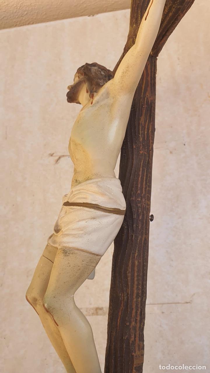 Arte: Bonito crucificado de Olot, para restaurar - Foto 7 - 265387239