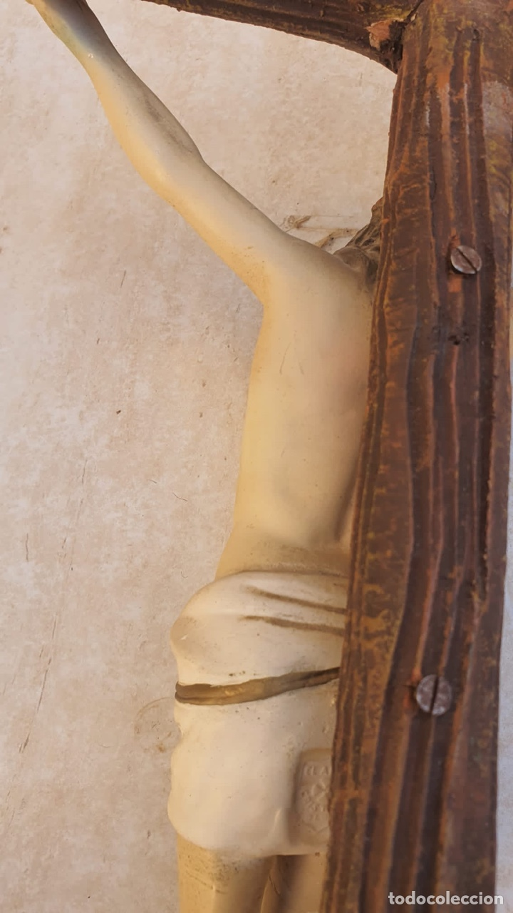 Arte: Bonito crucificado de Olot, para restaurar - Foto 11 - 265387239