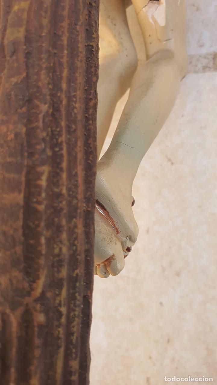 Arte: Bonito crucificado de Olot, para restaurar - Foto 12 - 265387239