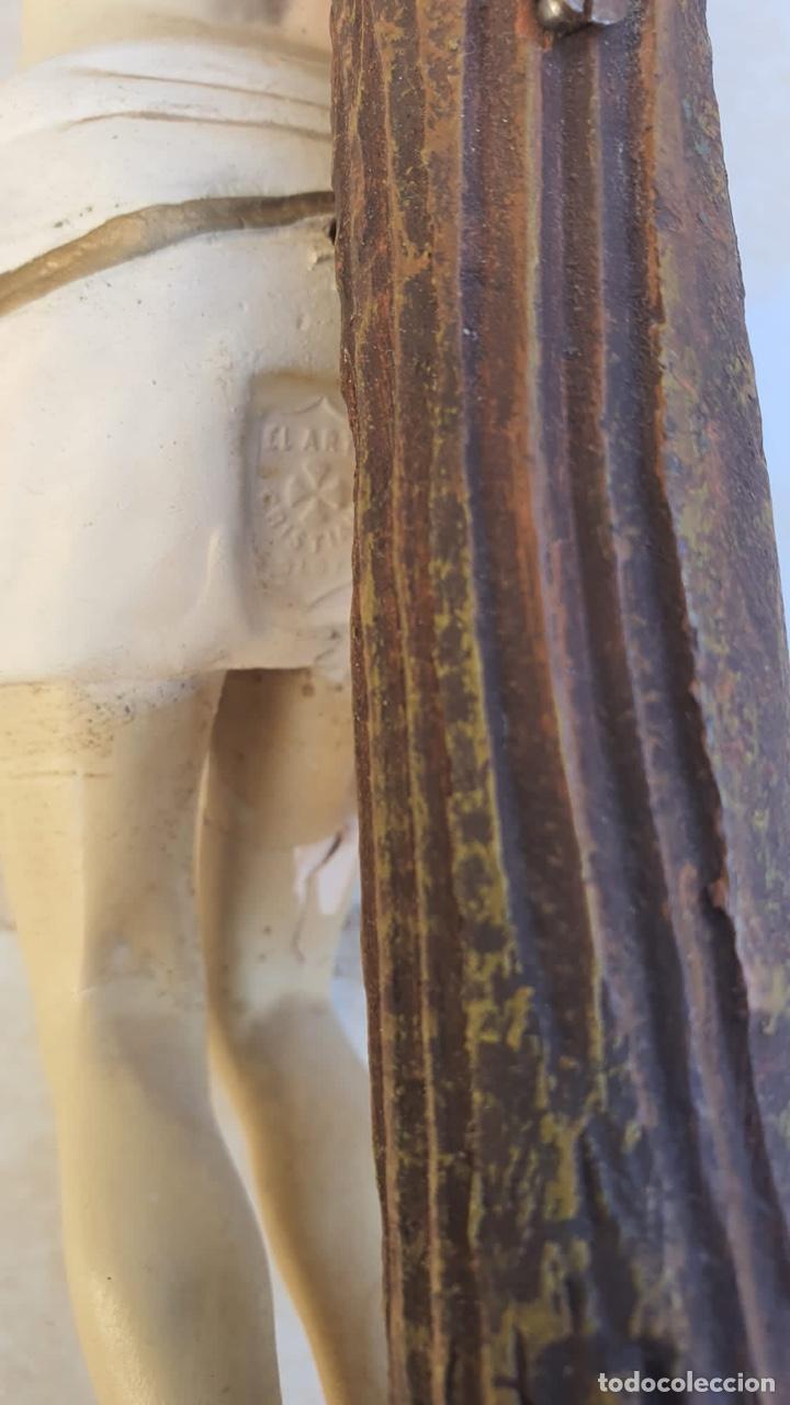 Arte: Bonito crucificado de Olot, para restaurar - Foto 14 - 265387239
