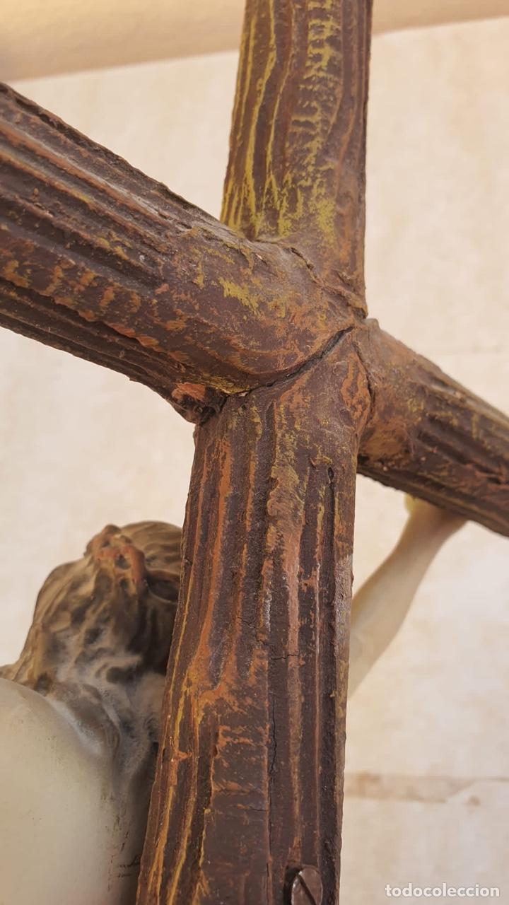 Arte: Bonito crucificado de Olot, para restaurar - Foto 16 - 265387239
