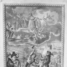 Arte: MUERTE PRECIOSA DE SAN SEVERO - OBISPO DE BARCELONA - 1785 - AGUSTIN SELLENT - ANTONIO CASANOVAS. Lote 266652208