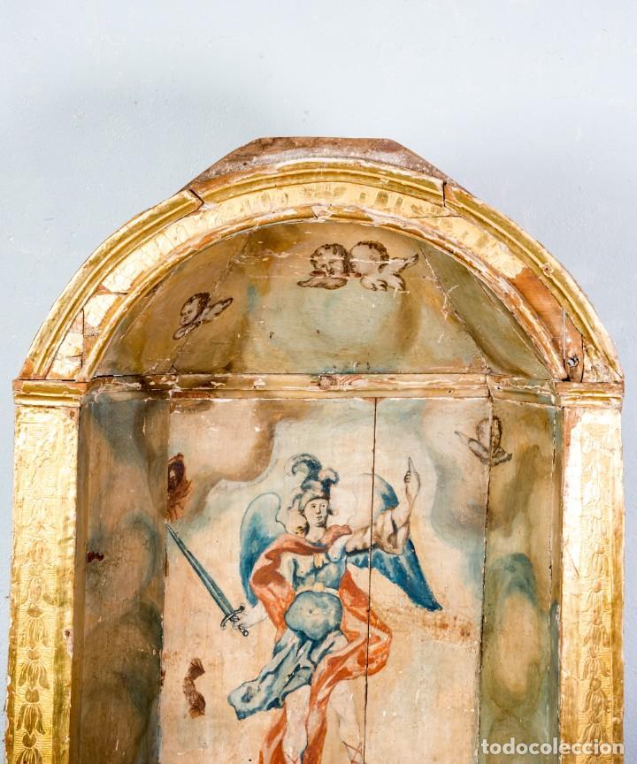 Arte: Hornacina Antigua De Retablo - Foto 2 - 267083739