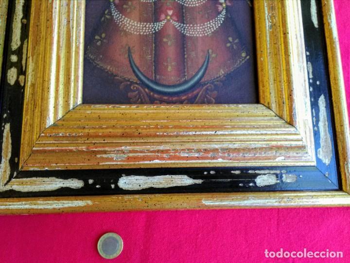 Arte: Marco con pintura cuzqueña antigua - Foto 2 - 267629629