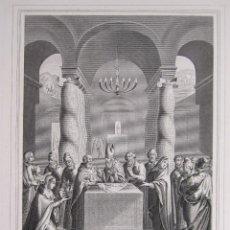 Arte: EMILE ROUARGUE. LA PURIFICACIÓN. GRABADO. PARIS, 1858. Lote 267786009