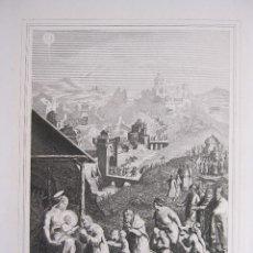 Arte: EMILE ROUARGUE. ADORACIÓN DE LOS MAGOS. GRABADO. PARIS, 1858. Lote 267786284