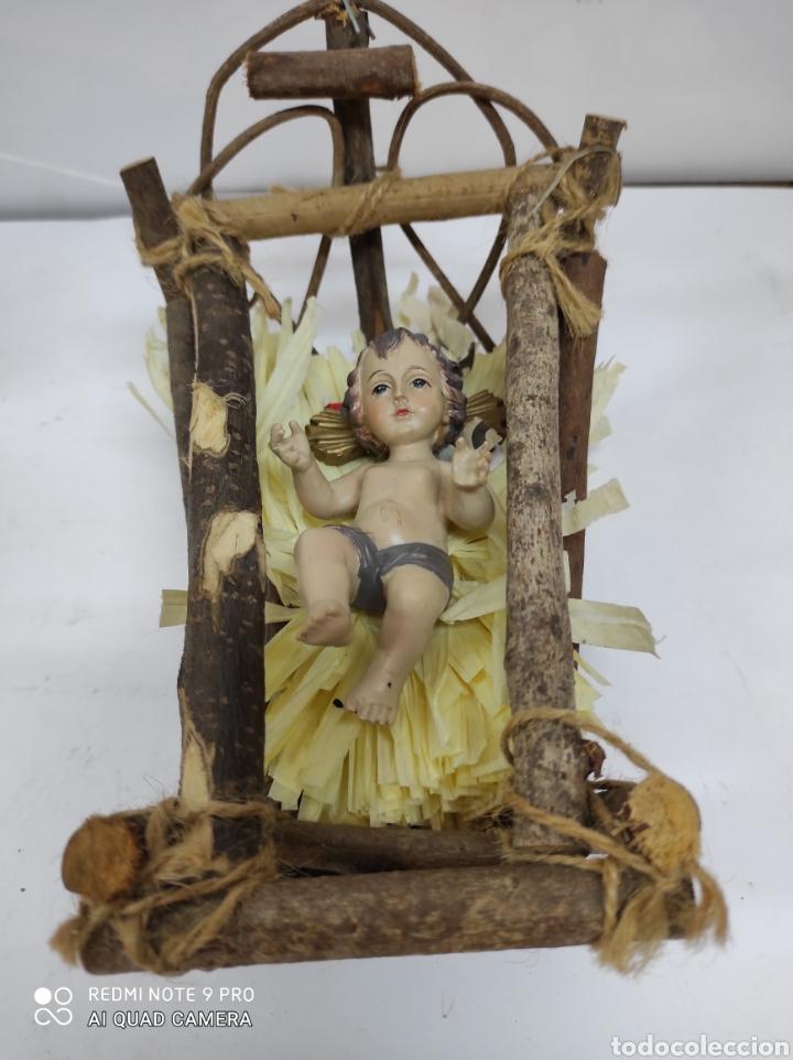 GUAPÍSIMO NIÑO JESÚS (NO PLÁSTICO). (Arte - Arte Religioso - Escultura)