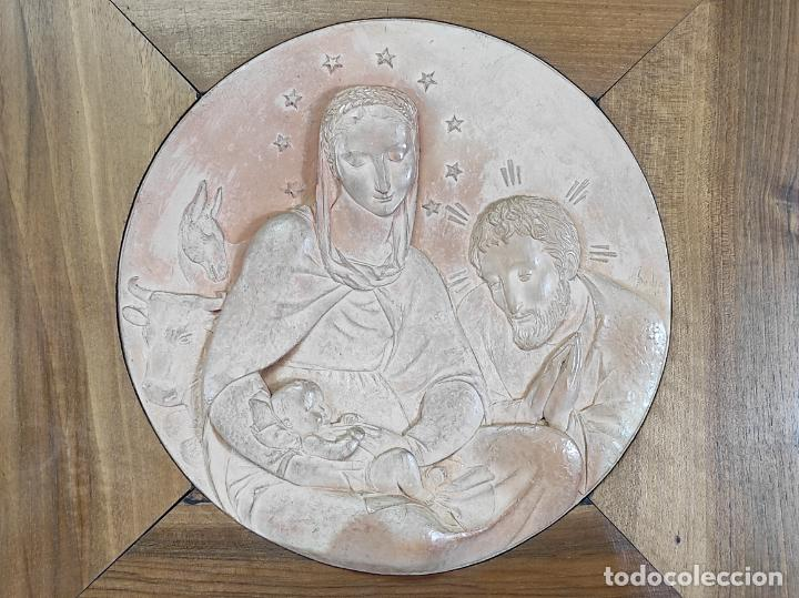 Arte: Sebastià Badia Cerdà (Caldes de Montbui 1916-2009) - Escultura Sagrada Familia - Terracota - 1941 - Foto 11 - 268262594