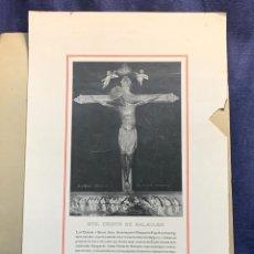 Arte: IMPRESION AUTOTIPIA J THOMAS BARCELONA STO CRISTO DE BALAGUER PPIO S XX 51X32,5CMS. Lote 268444424