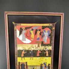 Arte: HA LLEGADO LA HORA DE SEGAR , BEATO DE LIEBANA, COMENTARIOS AL APOCALIPSIS, MOLEIRO 2006, CUADRO. Lote 268604404