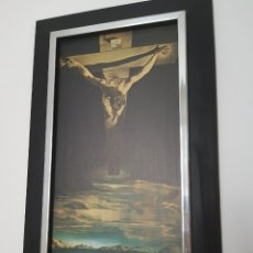 Arte: CUADRO CRISTO DALI. Lote 268795394