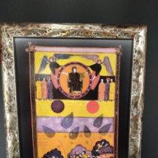 Arte: ROMPIO EL SEXTO SELLO , BEATO DE LIEBANA, COMENTARIOS AL APOCALIPSIS, MOLEIRO 2006, CUADRO. Lote 268817394