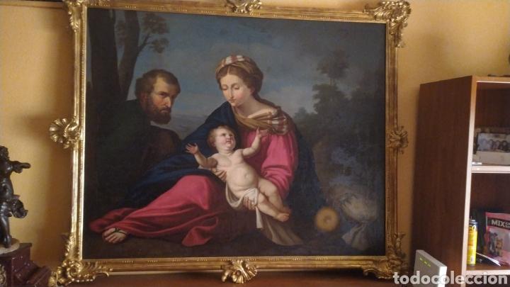 SAGRADA FAMILIA (Arte - Arte Religioso - Pintura Religiosa - Oleo)