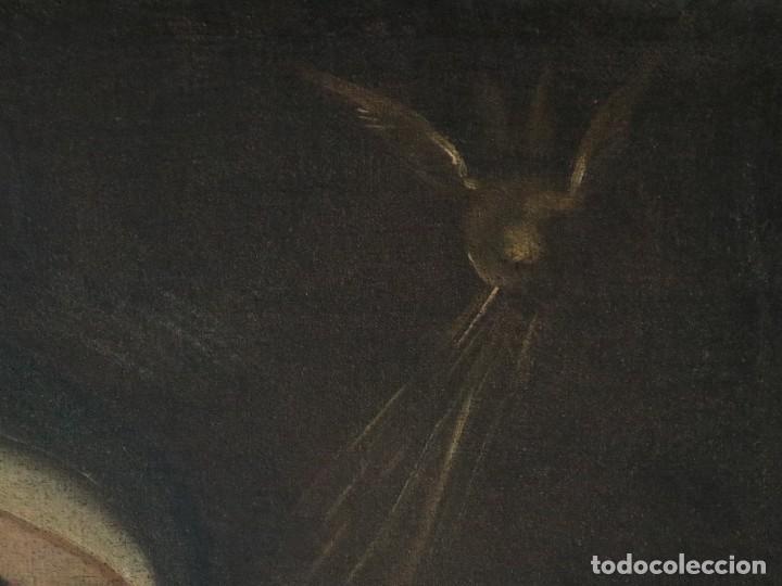 Arte: Santa Teresa de Jesús. Ó/L. Escuela Española del siglo XVIII. Mide 80 x 59 cm. - Foto 17 - 269167028