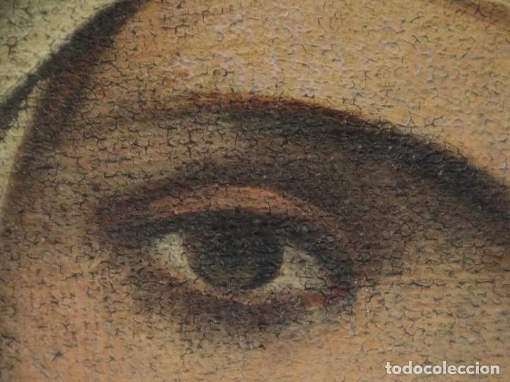 Arte: Santa Teresa de Jesús. Ó/L. Escuela Española del siglo XVIII. Mide 80 x 59 cm. - Foto 19 - 269167028
