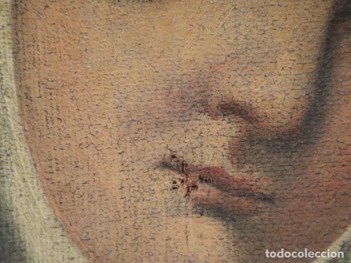 Arte: Santa Teresa de Jesús. Ó/L. Escuela Española del siglo XVIII. Mide 80 x 59 cm. - Foto 20 - 269167028