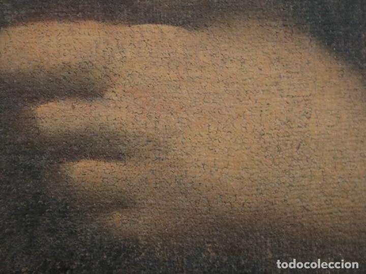 Arte: Santa Teresa de Jesús. Ó/L. Escuela Española del siglo XVIII. Mide 80 x 59 cm. - Foto 21 - 269167028