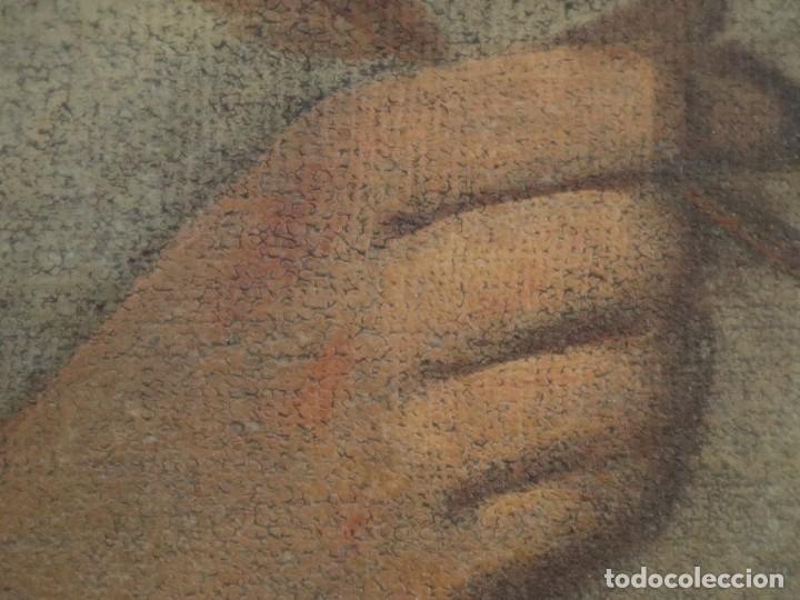 Arte: Santa Teresa de Jesús. Ó/L. Escuela Española del siglo XVIII. Mide 80 x 59 cm. - Foto 22 - 269167028