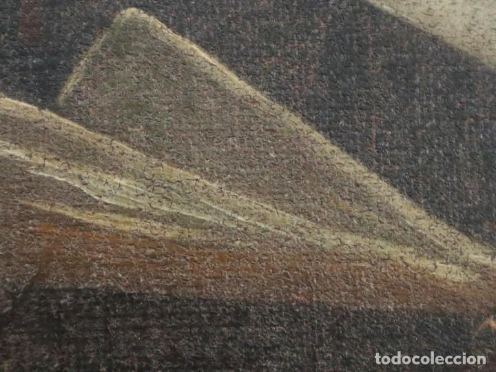 Arte: Santa Teresa de Jesús. Ó/L. Escuela Española del siglo XVIII. Mide 80 x 59 cm. - Foto 23 - 269167028