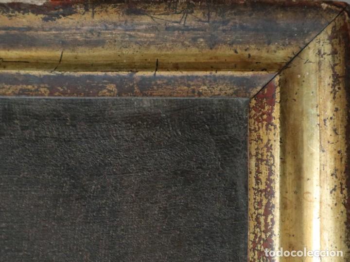 Arte: Santa Teresa de Jesús. Ó/L. Escuela Española del siglo XVIII. Mide 80 x 59 cm. - Foto 24 - 269167028