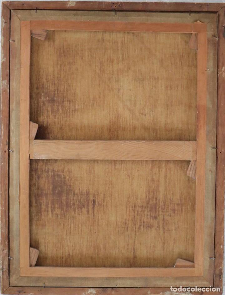 Arte: Santa Teresa de Jesús. Ó/L. Escuela Española del siglo XVIII. Mide 80 x 59 cm. - Foto 25 - 269167028