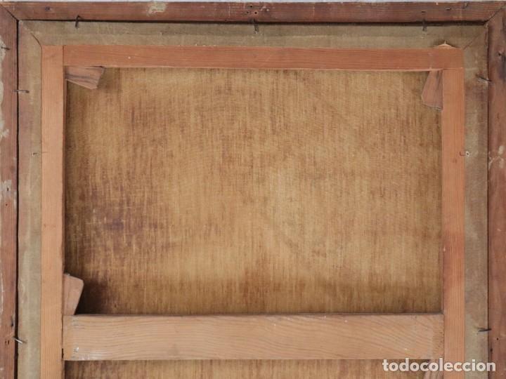 Arte: Santa Teresa de Jesús. Ó/L. Escuela Española del siglo XVIII. Mide 80 x 59 cm. - Foto 26 - 269167028