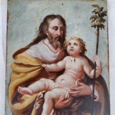 Arte: SANT JOSÉ I EL NIÑO. Lote 269582258