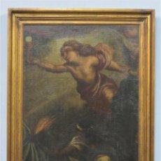 Art: ORACION EN EL HUERTO. OLEO S/LIENZO. SIGLO XVIII. Lote 269626483