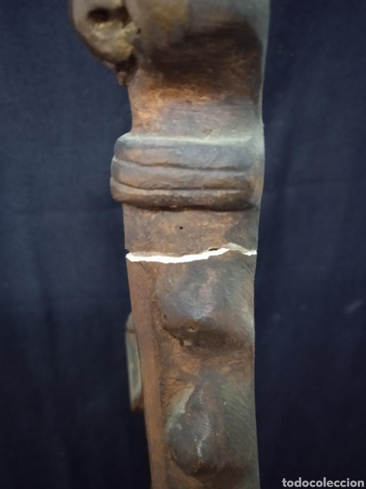 Arte: Antigua figura religiosa SAGRADO CORAZÓN DE JESÚS - Foto 24 - 269743218