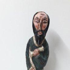 Arte: PANTOCRATOR / IMAGEN RELIGIOSA TALLADA EN MADERA . MEDIDA DE ALTURA 34,3 CM. Lote 269936573