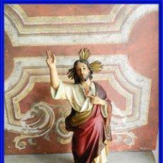 Arte: FIGURA DEL SAGRADO CORAZON DE LOS TALLERES DE OLOT. Lote 270111423
