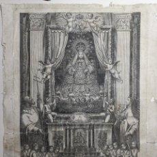 Arte: GRABADO NUESTRA SEÑORA DE LA MERCED BARCELONA DE AGUSTI SELLENT 1804. Lote 270226108