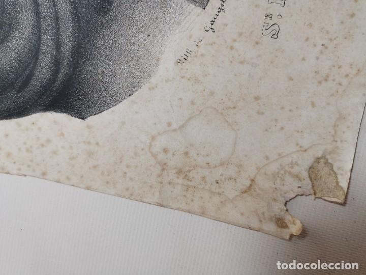 Arte: GRABADO SANTA HELENA--FRANCIA SIGLO XIX--GANGEL METZ - Foto 6 - 270227158