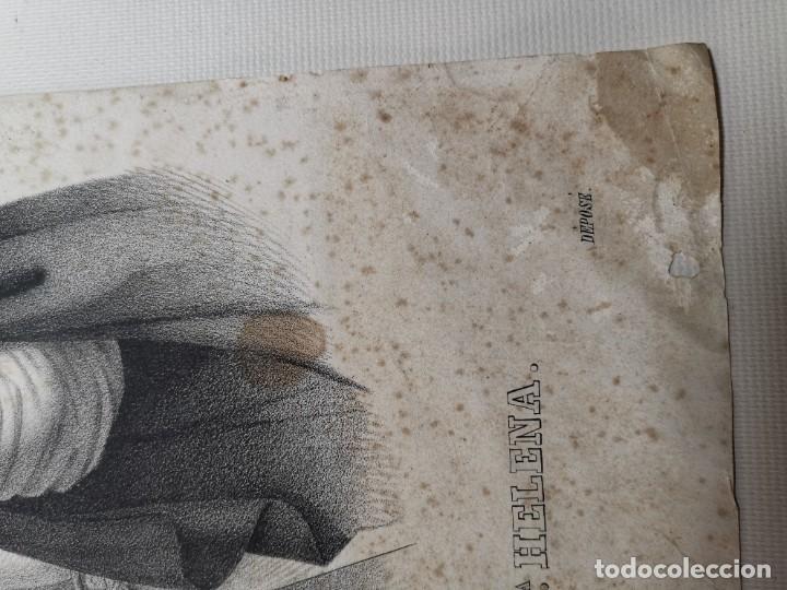 Arte: GRABADO SANTA HELENA--FRANCIA SIGLO XIX--GANGEL METZ - Foto 9 - 270227158