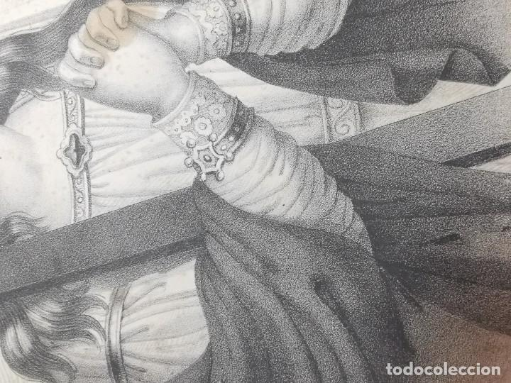 Arte: GRABADO SANTA HELENA--FRANCIA SIGLO XIX--GANGEL METZ - Foto 11 - 270227158
