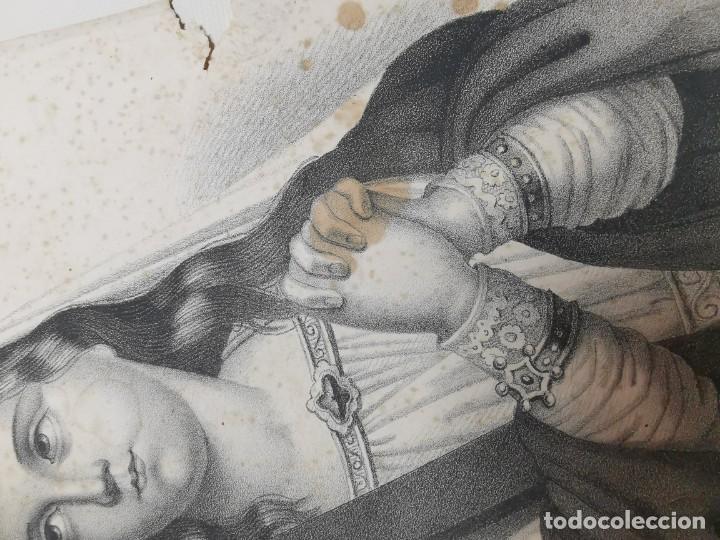 Arte: GRABADO SANTA HELENA--FRANCIA SIGLO XIX--GANGEL METZ - Foto 13 - 270227158