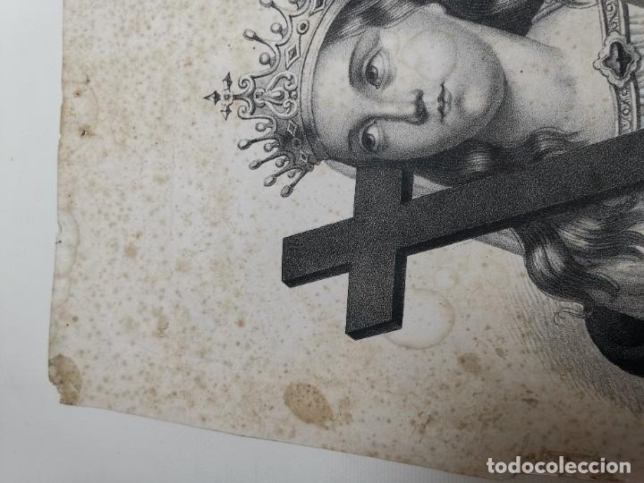 Arte: GRABADO SANTA HELENA--FRANCIA SIGLO XIX--GANGEL METZ - Foto 15 - 270227158