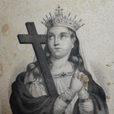 Arte: GRABADO SANTA HELENA--FRANCIA SIGLO XIX--GANGEL METZ. Lote 270227158